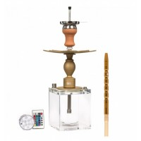MaShisha MS 480 CRAZY BOX DORADA